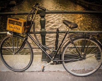 Old Dutch, Bike, Bicycle, fiets, Amsterdam, The Netherlands, Nederlands, Fine Art Photography, Holland, Dutch, rijwiel, photograph