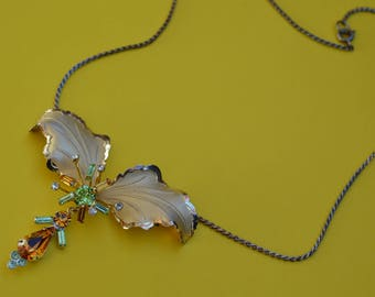 Vintage Vermeil Sterling Necklace by BOND BOYD  Made in Canaga