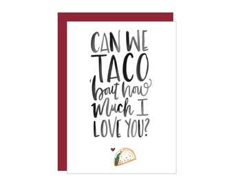 TACO Greeting Card