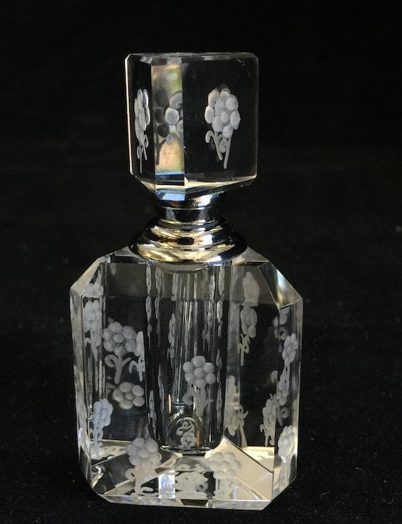 Crystal Mini Perfume Bottle Mini flowers