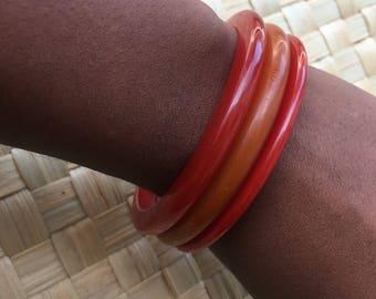 Red orange bandlite stackables