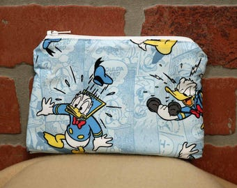 One Snack Sack, Donald Duck, Reusable Lunch Bags, Waste-Free Lunch, Machine Washable, Back to School, School Lunch, item #SS56