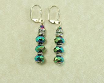 Electric Green Earrings