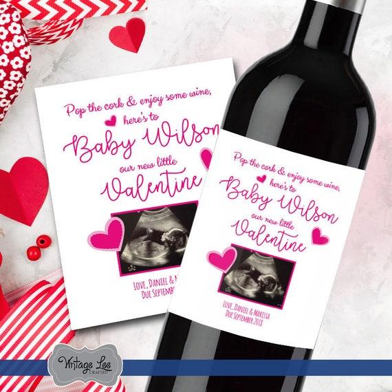 Valentine Day Pregnancy Announcement Valentines Day Pregnancy