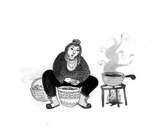 Witch 9--The Cooking Witch