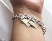Sterling Silver Bracelet (similar to Dave Gahan's- Depeche Mode)