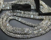 14 Inches Strand,Full Strand, Super Rare Item,Siloni Moonstone Faceted Rondelles Beads Size 5-5.5mm