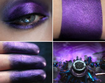 Eyeshadow: Berserker- Undead. Purple eyeshadow by SIGIL inspired.