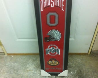 OHIO STATE  Banner•Sports Banner•FOOTBALL Banner•Sports Memorabilia