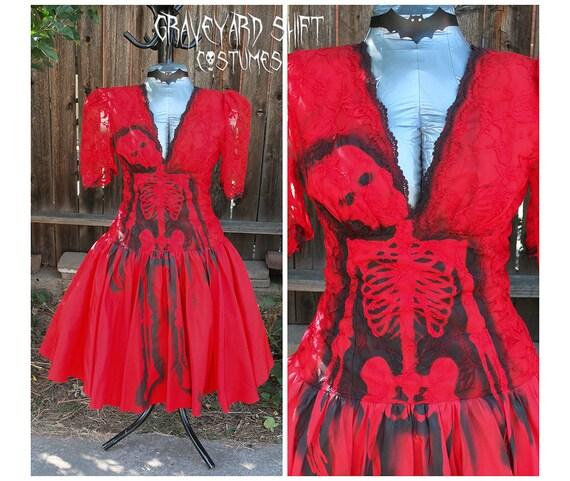 Mardi Gras Dress Zombie Lydia Deetz of Beetlejuice Lydia