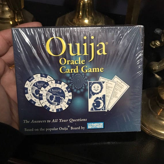 1998 Ouija Oracle Card Game