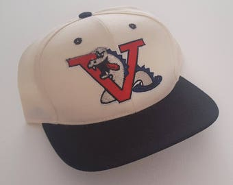 Vintage Vermont Expos Twins Snapback Hat VTG