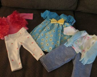 Custom Order Shawna V. Aubrey American Girl Doll Clothes 3 Outfits