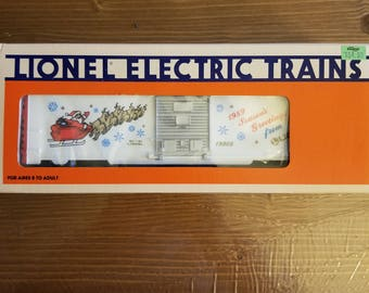 Lionel Trains 1989 Christmas Boxcar