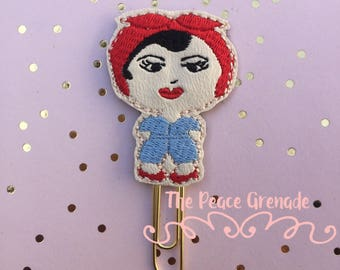 Rosie the Riveter planner clip