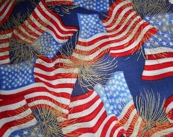 Robert Kaufman Patriot Fabric #4636
