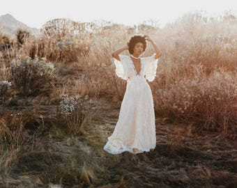 Living For The Fringe Collection A unique tasselly-fringe Bespoke experience  Boho delightfully awesome wedding dresses