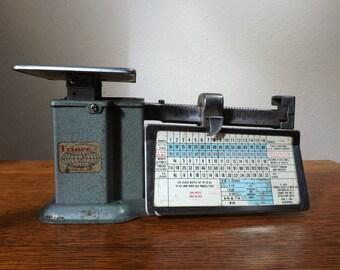 century office equipment. triner postal scale model aa1 1963 vintage office 1 lb century equipment