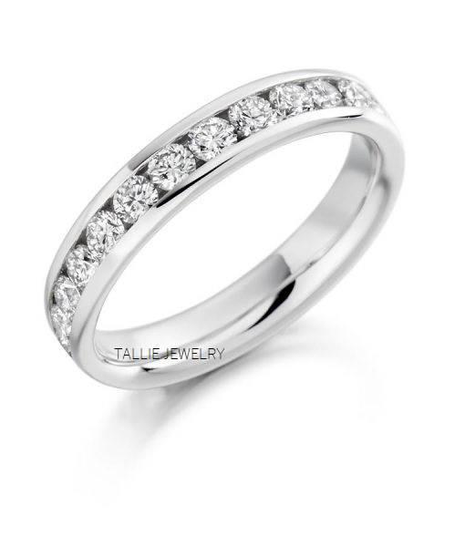 Platinum Diamond Eternity RingsPlatinum Wedding RingsMatching RingsWomens