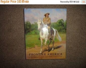 50% OFF Vintage Western Book Frontier America