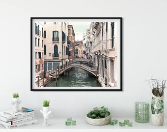 Venice photography,Italy photography, dreamy photography, venice canals, tilt shift, travel print