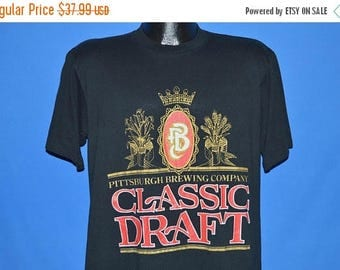 ON SALE 90s PBC Pittsburgh Brewing Company Cold One t-shirt Large