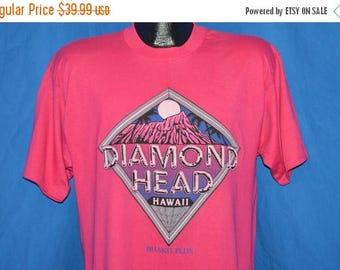 ON SALE 80s Diamond Head Hawaii Full Moon t-shirt Large