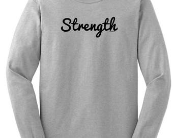 Inspirational Positive Message Great Gift Idea Beautiful Long Sleeve T-Shirt 2400 - RT-328