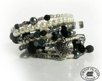 Smoky Gray Bracelet