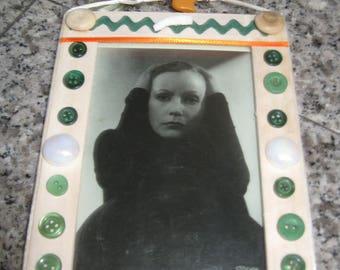 Greta, a wood framed print