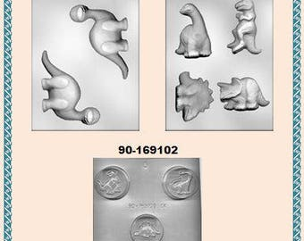 Dinosaur Chocolate Molds (B)
