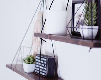 GRANDE Shelves (2) / Hanging Shelves / Floating Shelves