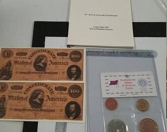 10% OFF 3 day sale The untold story of  Confederate Coins