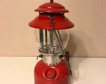 200A Coleman Lantern Dated 7/72 with **replaced reproduction burner**