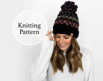 Knitting Pattern Tacoma Hat Instant Download
