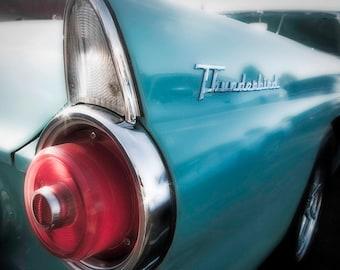 Thunderbird teal blue with chrome 4x6, 5x7, 8x10, and 11x14
