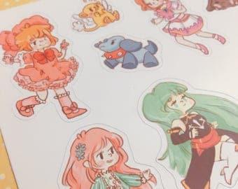 CLAMP Sticker Set