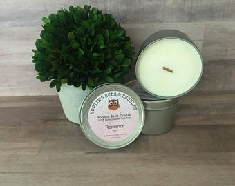 Wood Wick Soy Wax Candle - Romance (Ralph Lauren type)
