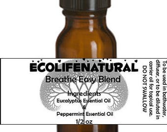 SALE Breathe Easy Essential Oil blend