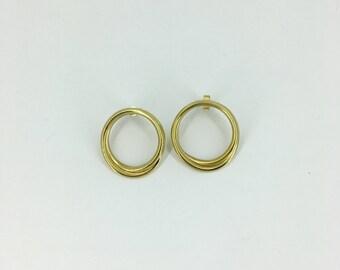 """APOLLO"" VERMEIL earrings"