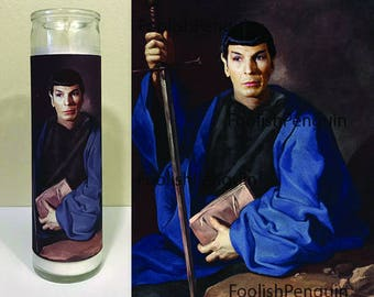 Spock Devotional Candle 1.0