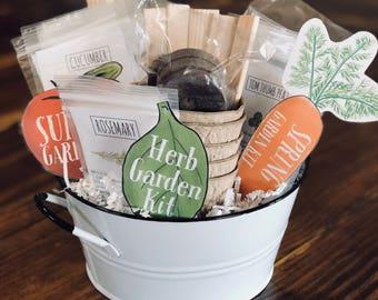 Easter Basket - Deluxe Beginner Garden Kit for Kids, Gardening for Children, Container Garden, Plant Study, Kids Gift Basket