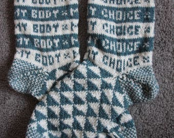 My Body My Choice Socks
