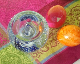 Paperweight, Glass Object, Germany, Collectible, Room Decor, Vase