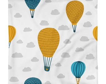 Up UP And Away Square Pillow Case only