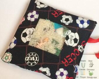 SALE!!  I Spy Bag - Soccer