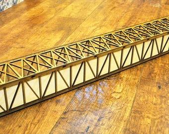 Large Model Railway OO Gauge Bridge Laser Cut MDF