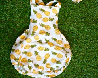 Bubble Romper - Pineapple Romper - Summer Kids Clothing - Romper - Comfy Baby Outfit - Cotton Romper
