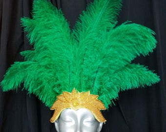 New Green Headdress