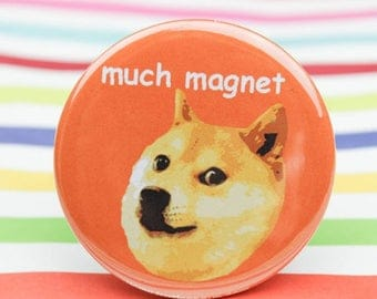 Moving SALE Refrigerator Magnets, Doge, Meme, Funny, Party Favors, Stocking Stuffers, Gift For Dog Lover, Birthday Gift, Dogs, Fridge Magnet